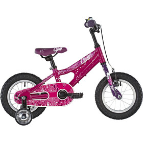 Ghost Powerkid AL 12 Kinderen, dark fuchsia/pink violet/star white